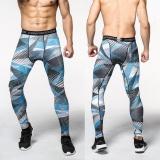 Busana Pria Jogger Berlari Celana Panjang Olahraga Latihan Latihan Terkompresi Ketat Legging Geometri Dot Intl Promo Beli 1 Gratis 1