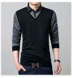 Ulasan Tentang Fashion Pria S Slim Fit Kemeja Kasual Lengan Panjang Katun Polo T Shirt Atasan Tee