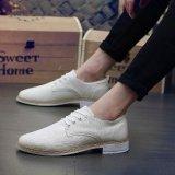 Fashion Pria Sneaker Musim Panas Kanvas Kasual Sepatu Beige Intl Diskon Tiongkok