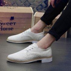 Spesifikasi Fashion Pria Sneaker Musim Panas Kanvas Kasual Sepatu Beige Intl Baru