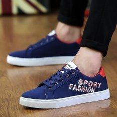Harga Busana Pria Olah Raga Sepatu Musim Panas Casual Sepatu Sneaker Biru Intl Merk Oem