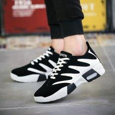 Beli Fashion Pria Olah Raga Sepatu Musim Panas Sneaker Menjalankan Sepatu Putih Intl Dengan Kartu Kredit