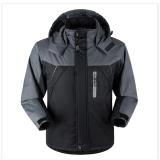 Beli Pakaian Luar Pria Jaket Tahan Air Tahan Angin Gunung Salju Hitam Dengan Kartu Kredit