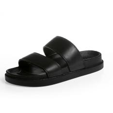 Beli Fashion Musim Panas Dalam Dan Luar Ruangan Non Slip Sandal Dan Sandal Pria Sandal Hitam Sepatu Pria Sepatu Sendal Other Murah