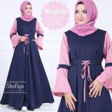 Review Fashion Muslimah Baju Gamis New Marbella Ori Shofiya Longdress