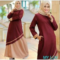 Jual Fashion Muslimah Kaila Dress Murah Indonesia