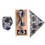 Jual Fashion Poliester Sutra Dasi Saputangan Bow Tie Set Kurus Ikatan Saku Persegi Handuk Bowtie Pernikahan Untuk Pria Amart Online