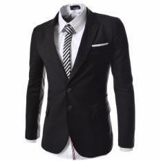 Fashion Pria - Black Jas Eksekutif Formal Pria Terbaru
