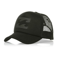 Fashion Pria Topi Trucker Billabong Hitam