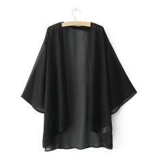 Harga Fashion S 5Xl Wanita B*k*n* Menutupi Pakaian Renang Baju Renang Pantai Gaun Panjang Lengan Baju Pakaian Renang Hitam Yang Bagus