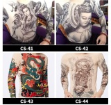Jual Beli Online Fashion Slim Men Women Skull Printing Tattoo With Long Sleeve T Shirt Size High Stretch Breathable Sunscreen Summer Quick Drying Tattoo Clothes Cs 43 Intl