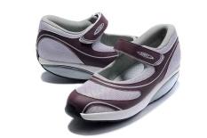 Sepatu Model Kets Untuk MBT Baridi Wanita (Light Plum) - intl 0445589452