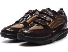Fashion Sneaker untuk MBT Nama Rendah Memotong Sepatu Wanita (Coklat)-Intl