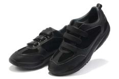 Fashion Sneaker untuk Nama Rendah Memotong Sepatu Pria (MBT Hitam)-Intl