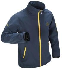 Harga Fesyen Musim Bunga Dan Musim Gugur Pria Terbuka Jaket Penahan Angin Mantel Tahan Air Bernapas Kasual Jaket Pakaian Intl Asli Oem