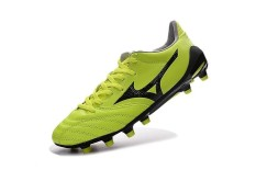 Fashion Summer Football Shoes For mens and womens Mizuno Morelia Neo NEO II FG Soccer Sneakers Size 39-45 (Green/Black)
