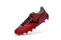 Fashion Sepatu Sepak Bola Musim Panas untuk Mens dan Womens Mizuno MORELIA NEO NEO II FG Soccer Sneakers Ukuran 39-45 (merah/Hitam) -Intl