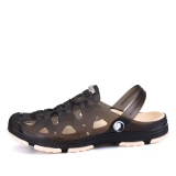 Spesifikasi Musim Panas Fashion Pria Sandal Breathable Pantai Sandals Croc Pria Sepatu Hollow Keluar Dari Drag Pria Shoes Sandal Untuk Musim Panas Hitam Intl Merk Oem