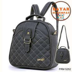 Toko Fashion Tas Ransel Punggung Wanita Premium Lucu Dan Modis Original Frm 5252 Abu Abu Termurah