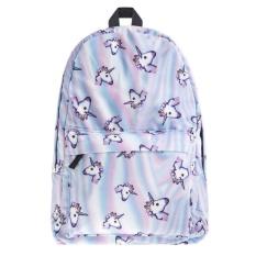 Fashion Unicorn 3D Printing Backpack untuk Wanita Top Kualitas Wanita Travel Bag Tas Sekolah untuk Remaja Girls