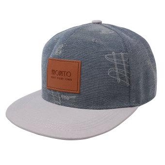 Price Checker Kata pria Fashion Unisex Snapback disesuaikan Hip Hop topi Baseball berwarna biru, putih - International pencari harga - Hanya Rp57.285