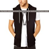 Fashion Vest With Zippper Black Promo Beli 1 Gratis 1