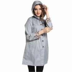 Jual Fashion Wanita Berkerudung Jas Hujan Anak Anak Kolam Perjalanan Berkendara Kain Waterproof Jas Hujan Untuk Wanita Lama Hujan Jaket Hujan Ponco Tiongkok