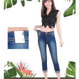 Beli Fashion Wanita Jeans Celana Wanita Skinny Jumbo Laser Ripped Den 100565 Ancien Store Dengan Kartu Kredit