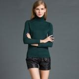Fashion Musim Dingin Wanita Sweater Knitwear Turtle Neck Lengan Panjang Ribbed Rajutan Pullover Tops Intl Di Hong Kong Sar Tiongkok