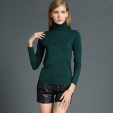 Toko Fashion Winter Women Sweater Knitwear Turtle Neck Long Sleeves Ribbed Knitted Pullover Tops Intl Hong Kong Sar Tiongkok