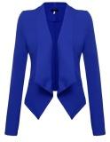 Spesifikasi Fashion Wanita Blazers Jaket Tidak Beraturan Suit Tipis Ol Bisnis Formal Wanita Hak Tinggi Aksen Pita Model Pump Gtop Biru Intl Lengkap Dengan Harga