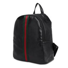 Harga Fashion Wanita Gaya Inggris Backpack Pu Leather Ladies Girls Back Pack Schoolbag Hitam Intl Gp Tiongkok