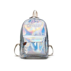 Promo Toko Fashion Wanita Kulit Hologram Tas Holographic Laser Backpack Sch**L Bookbag Intl
