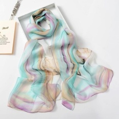 Fashion Wanita Panjang Selendang Lembut Syal Ladies Selendang Chiffon Scarf Syal Intl Not Specified Diskon 40