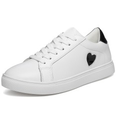 Jual Fashion Women Low Cut Sneakers Lady Embroidery Casual Shoes White Simple Fashion Skateboard Shoes Intl Oem Branded