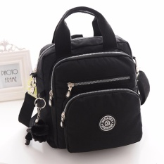 Dimana Beli Fashion Wanita Nilon Tahan Air Ransel Multi Function Shoulder Bag Hitam Intl Jinqiaoer