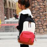 Harga Fashion Wanita Tas Ransel Sekolah Travel Kanvas Semangka Merah International Satu Set
