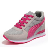 Jual Fashion Women S Lace Up Sneakers Olahraga Menjalankan Sepatu Gray Grosir