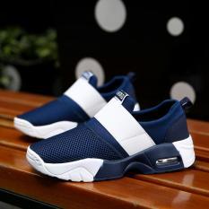Toko Fashion Women S Mesh Breathable Outdoor Berjalan Santai Sepatu Untuk Olahraga Lari Biru Intl Lengkap Tiongkok