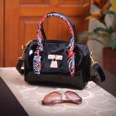 Beli Fashionity Candy Jelly Satchel 0880 Black Pakai Kartu Kredit