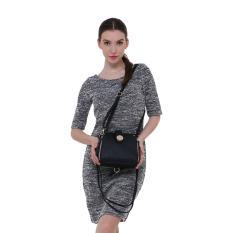 Beli Fashionity Ruby 3In1 Backpack Satchel Jj 808 Full Black Tas Wanita Secara Angsuran