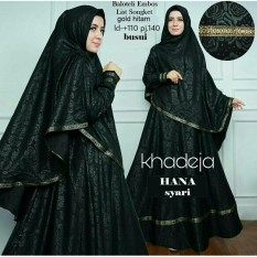 Fashionshop Baju Gamis Muslim Hanna  / Dress Muslimah / Hijab Muslim / Gamis Syari / Baju Muslim / Fashion Muslim / Fashion Maxi / Setelan Muslim / Hijab Wanita / Gamis Wanita / Jilbab Instan / Kebaya / Baju Wanita