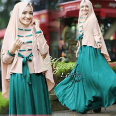 Fashionshop Hijab Lamina Syari Tosca  / Dress Muslimah / Hijab Muslim / Gamis Syari / Baju Muslim / Fashion Muslim / Fashion Maxi / Setelan Muslim / Hijab Wanita / Gamis Wanita / Jilbab Instan / Kebaya / Baju Wanita