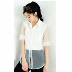Review Fashionshop Kemeja Avica Puti Baju Wanita Blouse Korea Atasan Wanita Baju Formal Kemeja Wanita Kemeja Formal Atasan Muslim Kemeja Cewek Tunik Blouse Sabrina