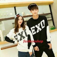 Fashionshop Tshirt Couple Exo / Baju Wanita / Blouse Korea / Atasan Wanita / Baju Formal / Kemeja Wanita / Kemeja Formal / Atasan Muslim / Kemeja Cewek Tunik / Blouse Sabrina   / Baju Pria / Kemeja Pria / Baju Santai Pria