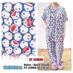 Fashionshop119 Panjamas Doraemon Jumbo Katun Jepang Asli