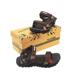 Faster Sandal Gunung Pria Cartenz 02 (2 in 1 model) - Brown