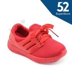 Review Faster Sepatu Ak Anak Sneaker 1704 600 Red 26 31 Terbaru