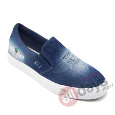 Harga Faster Sepatu Slip On Kanvas Pria 1609 801A Dark Blue Paling Murah