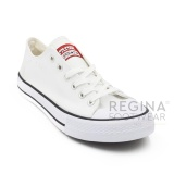 Spesifikasi Faster Sepatu Sneakers Kanvas Pria 1603 01 Putih 40 45